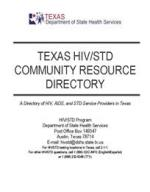 Community Resource Directory cover