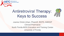 Thumbnail image of Google Slides Presentation of Antiretroviral Therapy: Keys to Success.
