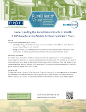 Thumbnail image of Google Slides Presentation of Understanding the Social Determinants of Health: A Self-Guided Learning Module.