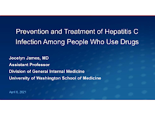 Thumbnail image of Google Slides Presentation of Preventing and Treating Hep C among People who use Drugs.