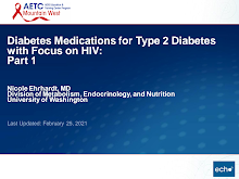 Thumbnail image of Google Slides Presentation of Diabetes Medications for Type 2 Diabetes with Focus on HIV: Part 1.