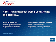 """Thumbnail image of Google Slides Presentation of """"IM"""" Thinking About Using Long  Acting Injectables."""