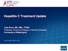 Thumbnail image of Google Slides Presentation of Hepatitis C Treatment Update.