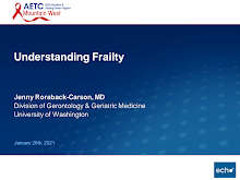 Thumbnail image of Google Slides Presentation of Understanding Frailty.