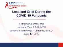 Thumbnail image of Google Slides Presentation of Loss and Grief during the COVID-19 Pandemic.