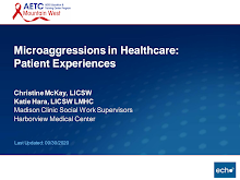 Thumbnail image of Google Slides Presentation of Microaggressions in Healthcare: Patient Experiences.