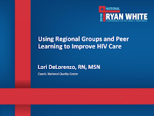 Thumbnail image of Google Slides Presentation of Using Regional Groups and Peer Learning to Improve HIV Care.