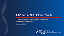 Thumbnail image of Google Slides Presentation of HIV and ART in Older People.
