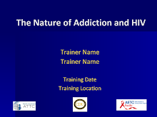 Thumbnail image of Google Slides Presentation of The Nature of Addiction and HIV.