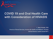 Thumbnail image of Google Slides Presentation of COVID-19, HIV, and Oral Health Care.