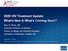 Thumbnail image of Google Slides Presentation of 2020 HIV Treatment Update:What's New & What's Coming Soon?.