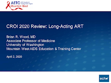 Thumbnail image of Google Slides Presentation of CROI 2020 Review: Long-Acting Antiretroviral Therapy (ART).