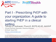 Thumbnail image of Google Slides Presentation of Prescribing PrEP With Your Organization: A Guide to Starting PrEP in a Clinical Setting- Part 1.