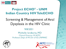 Thumbnail image of Google Slides Presentation of Screening & Management of Anal Dysplasia in the HIV Clinic.