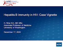 Thumbnail image of Google Slides Presentation of Hepatitis B Immunity in HIV: Case Vignette.