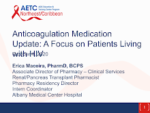 Thumbnail image of Google Slides Presentation of Anticoagulation Medication Update.