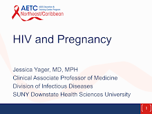 Thumbnail image of Google Slides Presentation of HIV and Pregnancy.