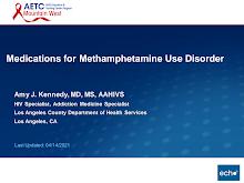 Thumbnail image of Google Slides Presentation of Medications for Methamphetamine Use Disorder.