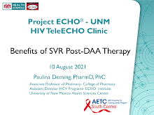 Thumbnail image of Google Slides Presentation of Benefits of SVR Post-DAA Therapy.