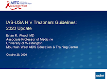 Thumbnail image of Google Slides Presentation of IAS-USA Panel HIV Treatment Guidelines 2020.
