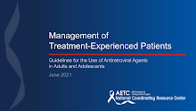 Thumbnail image of Google Slides Presentation of Management of Treatment Experience PWH.