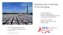 Thumbnail image of Google Slides Presentation of Meeting at the Crossroads of HIV & Aging.