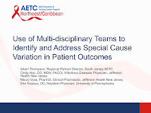 Thumbnail image of Google Slides Presentation of Multi-disciplinary Teams and Special Cause Variation.