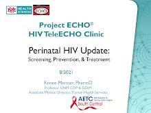 Thumbnail image of Google Slides Presentation of Perinatal HIV Update.