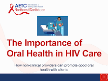 Thumbnail image of Google Slides Presentation of The Importance of Oral Health in HIV Care.