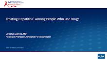 Thumbnail image of Google Slides Presentation of Treating HepC among People who use Drugs.
