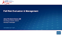 Thumbnail image of Google Slides Presentation of Fall Risk Evaluation & Management .