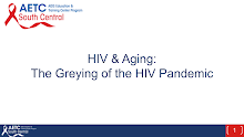 Thumbnail image of Google Slides Presentation of HIV & Aging:The Greying of the HIV Pandemic.