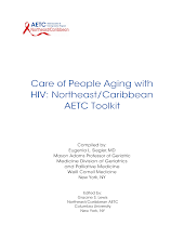 Thumbnail image of Google Slides Presentation of Care of People Aging with HIV: Northeast/Caribbean AETC Toolkit .