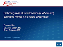 Thumbnail image of Google Slides Presentation of Cabotegravir plus Rilpivirine: Extended Release Injectable Suspension.